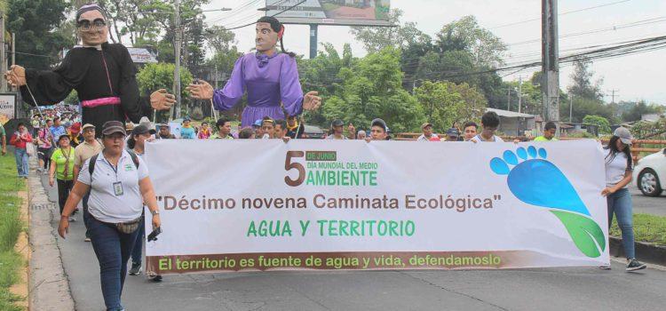 La MPGR participa en XIX Caminata Ecológica