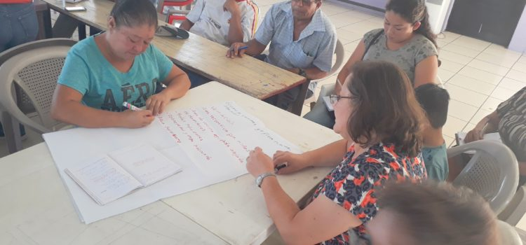 La MPGR capacita a CCPC de Mejicanos