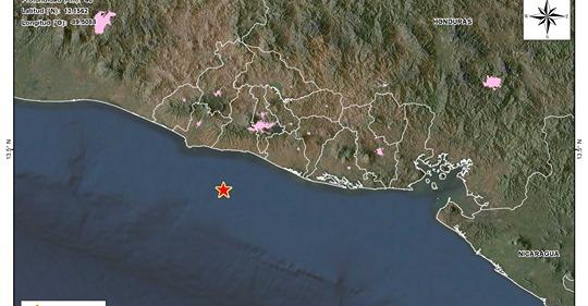 Disminuye actividad sísmica frente a la costa de La Libertad