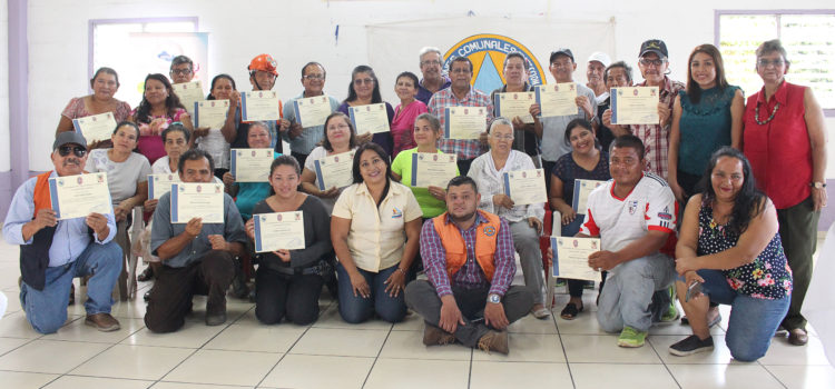 La MPGR clausura proceso de formación con CCPC de la zona de San Ramón en Mejicanos