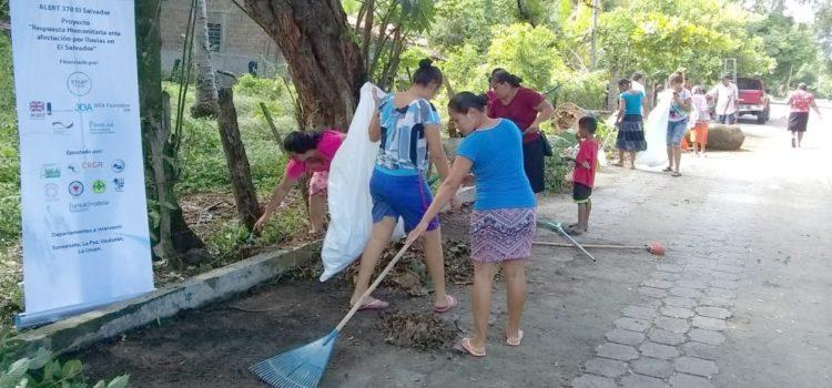 La MPGR ejecuta proyecto de emergencia para familias afectadas por lluvias