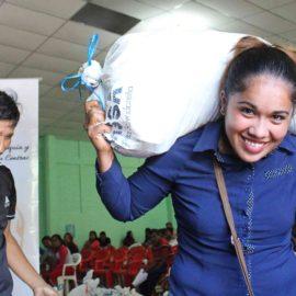 Proyecto de respuesta a los efectos de la Sequía y las Inundaciones en América Central atiende a 5 comunidades del oriente de El Salvador