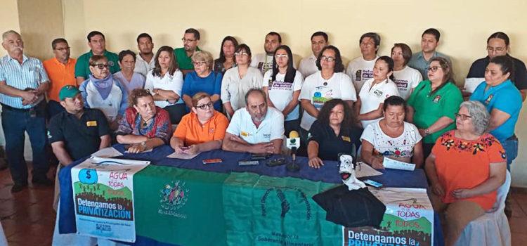 Organizaciones sociales se pronuncian por la defensa de la democracia en el país