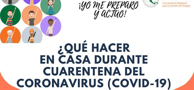 ¡Yo me preparo y actúo! ante el Coronavirus.